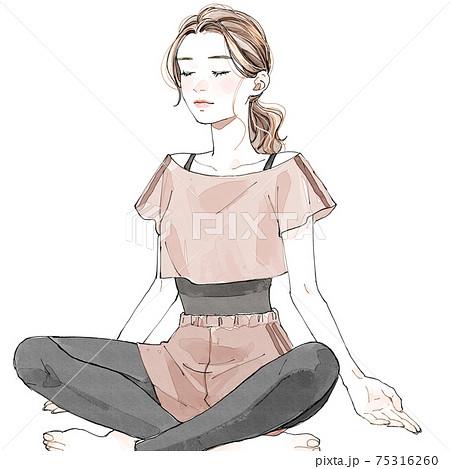 瞑想 75316260