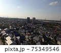 埼玉県川口市(旧鳩ケ谷市)の町並み、住宅街 75349546
