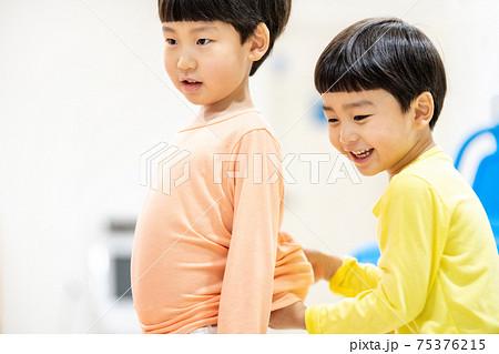 어린이 라이프스타일 놀이 75376215