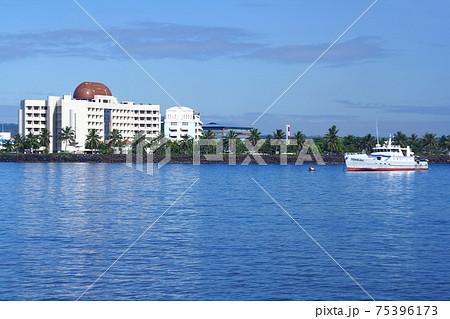 南太平洋の島国サモア独立国 ウポル島アピア湾 75396173