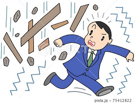 地震・危険物落下 75412822