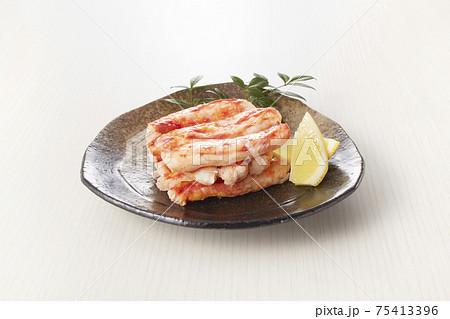タラバガニ 盛り付け 一品料理 75413396