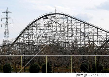東武動物公園の木製コースター レジーナ 75413688