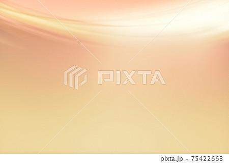 ドレープのようなラインの背景素材 抽象背景 75422663
