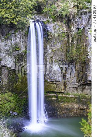 落差50メートルの名瀑布 五老ヶ滝 (熊本県上益城郡山都町) 75430997