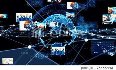 グローバルネットワーク デジタルコンテンツ 75455448