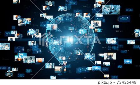グローバルネットワーク デジタルコンテンツ 75455449