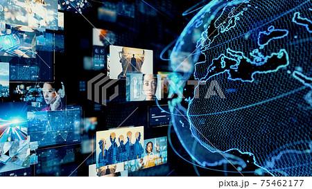 グローバルネットワーク  ビジュアルコンテンツ  75462177