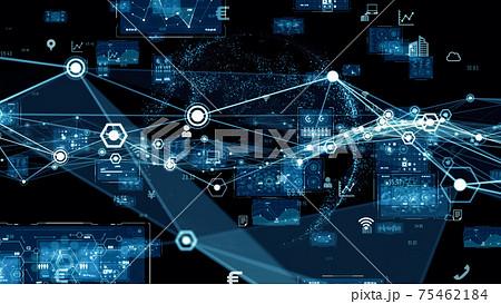 ネットワークイメージ デジタルトランスフォーメーション  75462184