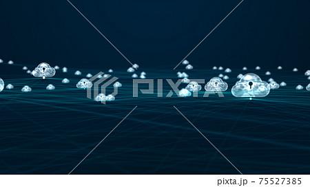 Cloud computing concept. 75527385