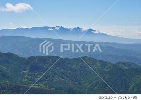 長野県 高ボッチ高原からの八ヶ岳 75566799