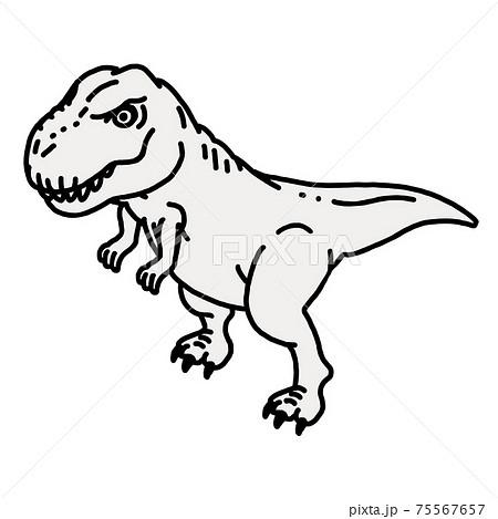 恐竜のティラノサウルス 75567657