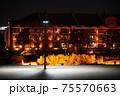 夜の赤レンガ倉庫 75570663