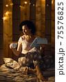 Indoor domestic photo. 75576825