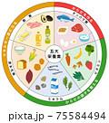 五大栄養素 三色食品群 食品 一覧表 75584494