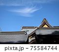 清々しい空気感に包まれた神宮の美しい屋根の稜線 75584744