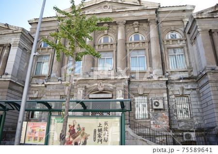 1908年竣工・旧満鉄本社右(中国・大連) 75589641