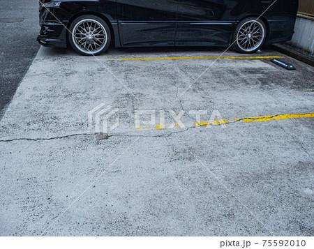 【駐車場】街中にある建物劣化箇所 75592010