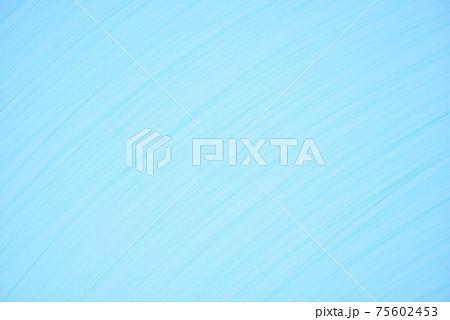 青系のライン背景 色えんぴつのテクスチャー 75602453