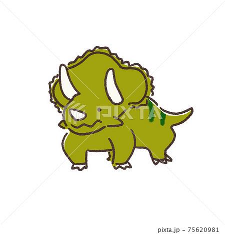 恐竜 トリケラトプス 75620981