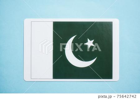 パキスタン国旗 75642742