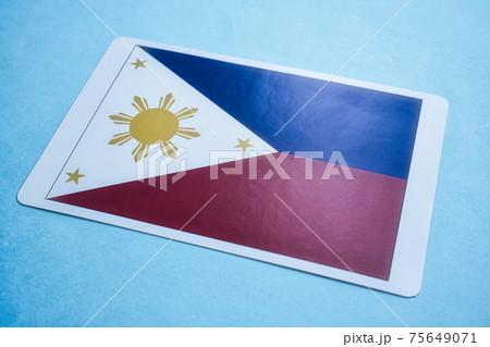 フィリピン国旗 75649071