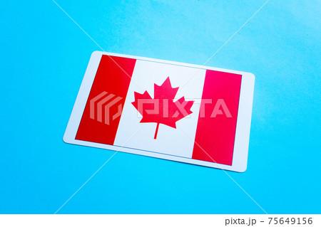 カナダ国旗 75649156