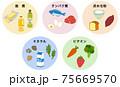 五大栄養素 食品 75669570