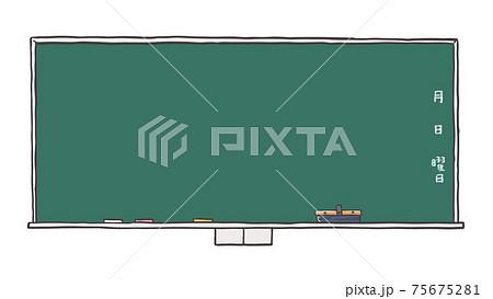 教室の黒板 75675281