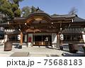 上野天満宮の拝殿 75688183
