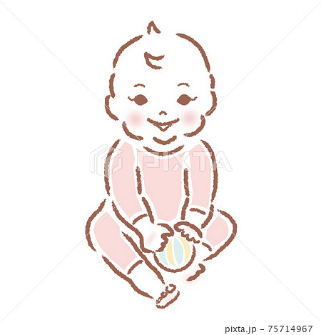赤ちゃん 75714967