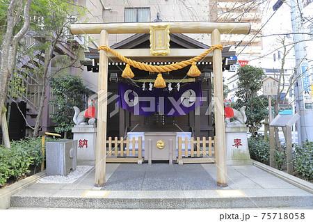 茶ノ木神社 東京都中央区日本橋人形町 75718058
