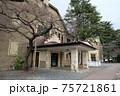 上諏訪温泉にある国の重要文化財、片倉館。千人風呂が有名 75721861