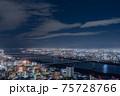 大阪 夜景 梅田スカイビル 75728766