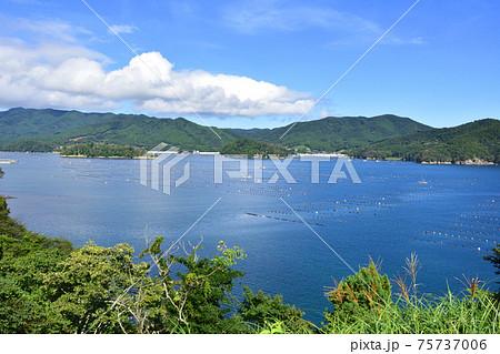 2020年夏、陸前高田市と大船渡市の風景 75737006