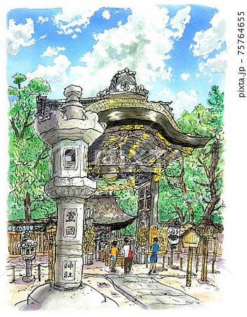 京都の豊国神社 75764655