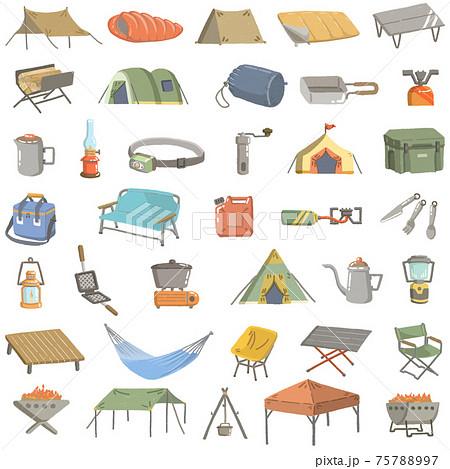 キャンプ道具いろいろ詰め合わせ 75788997
