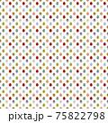 シンプルイースターエッグのシームレスパターンイラスト/白・暗い(中) 75822798
