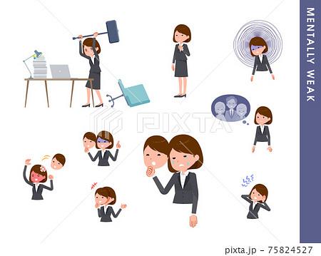 flat type business women_Mentally-weak 75824527