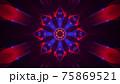 4K UHD 3D illustration of psychedelic ornament 75869521