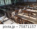昔の教室風景 75871157