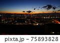 綺麗な都市の夜明け 75893828