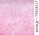 キラキラのピンク色グリッターテクスチャ背景 75918117