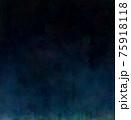 深海あるいは宇宙の藍色背景 75918118