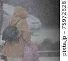 吹雪の歩く人 75972628