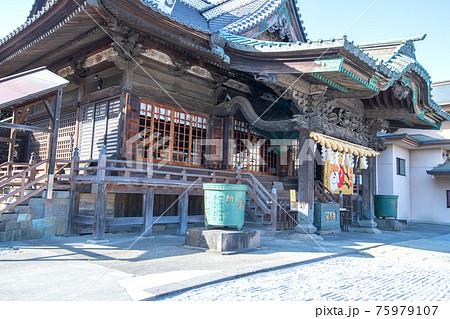箭弓稲荷神社 境内 拝殿 75979107