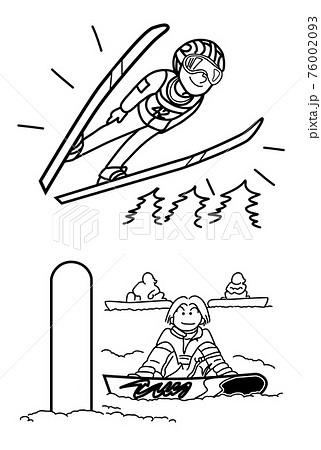 スキー,スノボー02 76002093