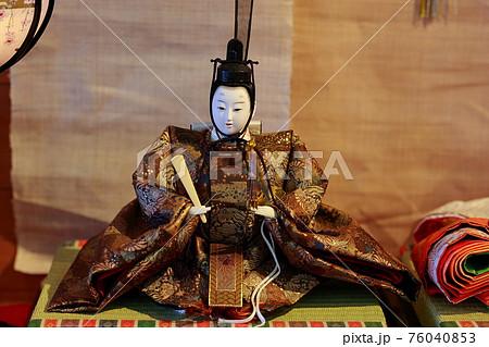 ひな祭り 雛人形 76040853