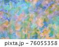 カラフルな水彩背景 76055358