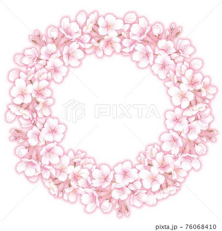 桜のリース 76068410